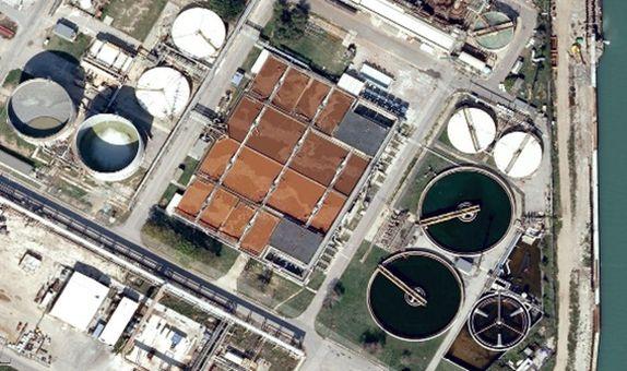 Porto Marghera MBR Atıksu Arıtma Tesisi'nde Membran Değişimi
