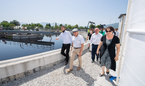 İzmir'de Atık Sular Tarımsal Sulamada Kullanılacak