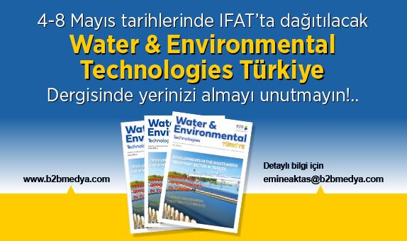 IFAT'ta Dağıtılacak WET Dergisinde Yerinizi Almayı Unutmayın