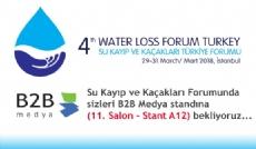 Su Kayıp ve Kaçakları Türkiye Forumu Başlıyor...