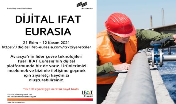 Su ve Çevre Dergimiz IFAT Eurasia Dijital Platformunda