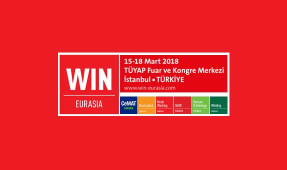 WIN Eurasia 2018 Fuarı Başlıyor...