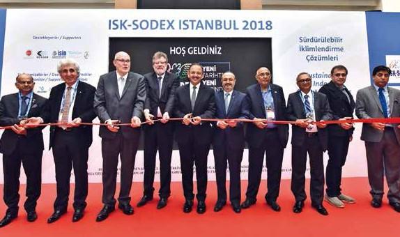 Su sektörünün de büyük ilgi gösterdiği ISK-SODEX
