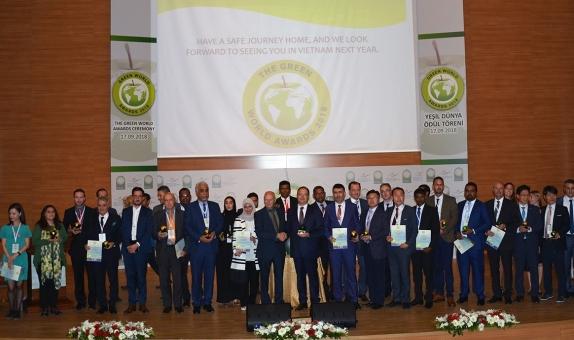 """İSKİ, Uluslararası """"Yeşil Enerji"""" Ödülüne Layık Görüldü"""