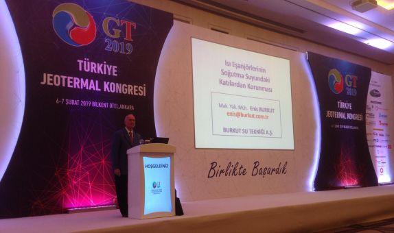 Türkiye Jeotermal Kongresi ve Çalıştayı Ankara'da Düzenlendi