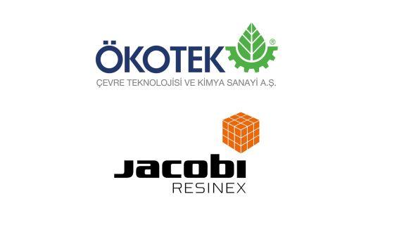 Ökotek'in İyon Değiştirici Reçinelerde Yeni Partneri Jacobi Resinex