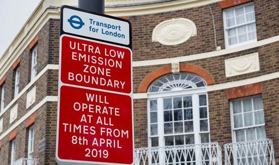 Londra Düşük Emisyon Bölgesi