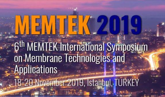 6. MEMTEK Uluslararası Membran Teknolojileri Sempozyumu Kasım Ayında Düzenlenecek