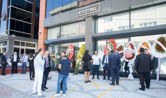 KROHNE Türkiye'nin Yeni Merkez Ofisi Törenle Açıldı