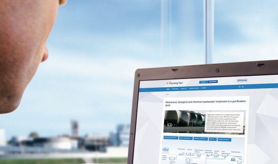 KROHNE'den Su ve Atıksu Endüstrisi için Web Tabanlı On-Line Planlama Aracı