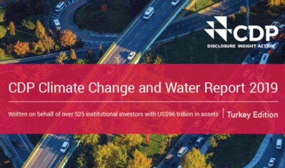 CDP İklim Değişikliği ve Su Programı 2019 Türkiye Sonuçları Açıklandı