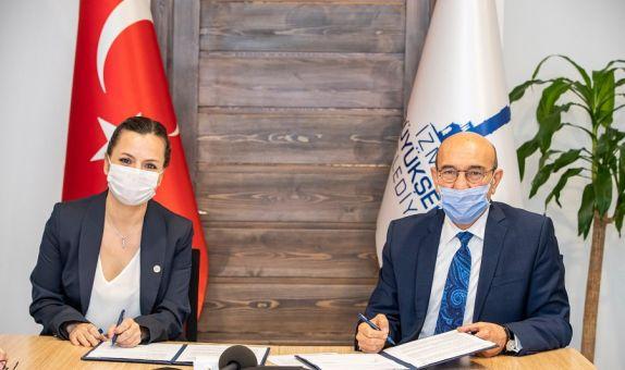 İZSU, Çevre Mühendisleri Odası ile Mesleki Denetim Protokolü İmzaladı