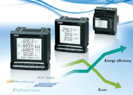 Enerji tüketiminde daha fazla şeffaflık... EMpro Ölçüm Cihazları Ailesi