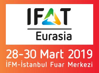 IFAT Eurasia | 28-30 Mart 2019 |İFM - İstanbul Fuar Merkezi